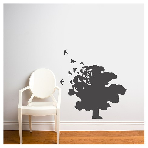 tree of life wall decal - charcoal : target