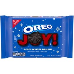Oreo Winter Edition Chocolate Sandwich Cookies - 15.35oz