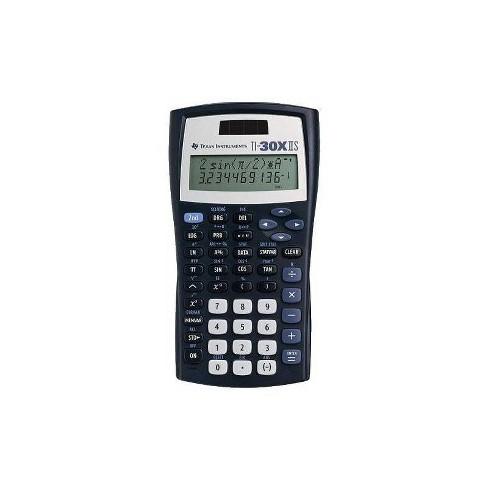 Texas Instruments TI-30XIIS Scientific Calculator - Black - image 1 of 4