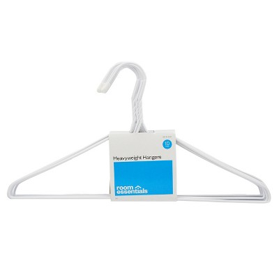 10 pk Hangers - White - Room Essentials™