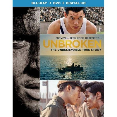 Unbroken (2 Discs)(Includes Digital Copy)(UltraViolet)(Blu-ray/DVD)