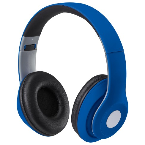 Ilive Audio Premium Over Ear Bluetooth Headphones Blue Iahb48mbu Target