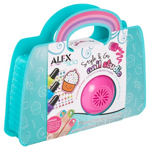 ALEX Toys Spa Style and Go Nail Studio - image 1 of 4