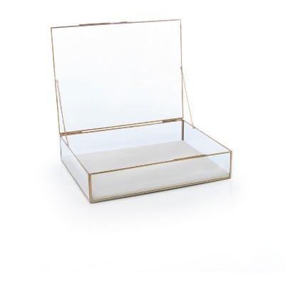 Medium Wallace Counter Display Box  - Clear - Shiraleah