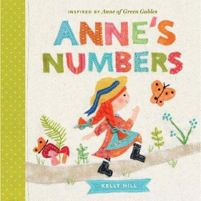 Anne's Numbers - (Anne of Green Gables) (Board Book)