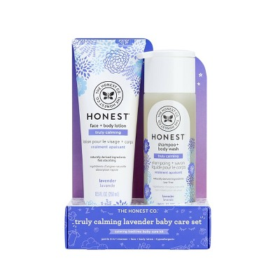 The Honest Company Truly Calming Shampoo & Lotion Bundle - Lavender