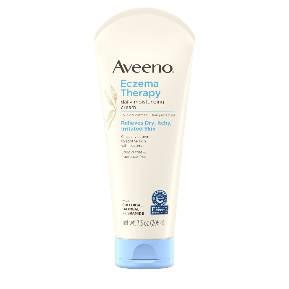 Image of Aveeno Eczema Therapy Daily Moisturizing Cream with Oatmeal- 7.3 oz