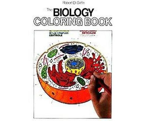 Biology Coloring Book (Paperback) (Robert D. Griffin) - image 1 of 1