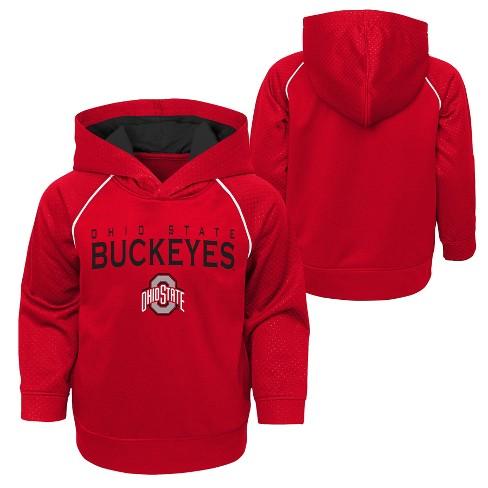 Ohio State Buckeyes Boys  Long Sleeve Poly Hoodie   Target b4cd68053