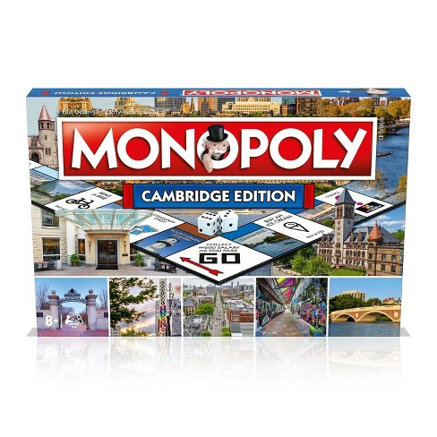 Top Trumps Monopoly Cambridge Edition Family Board Game   2-6 Players - image 1 of 4