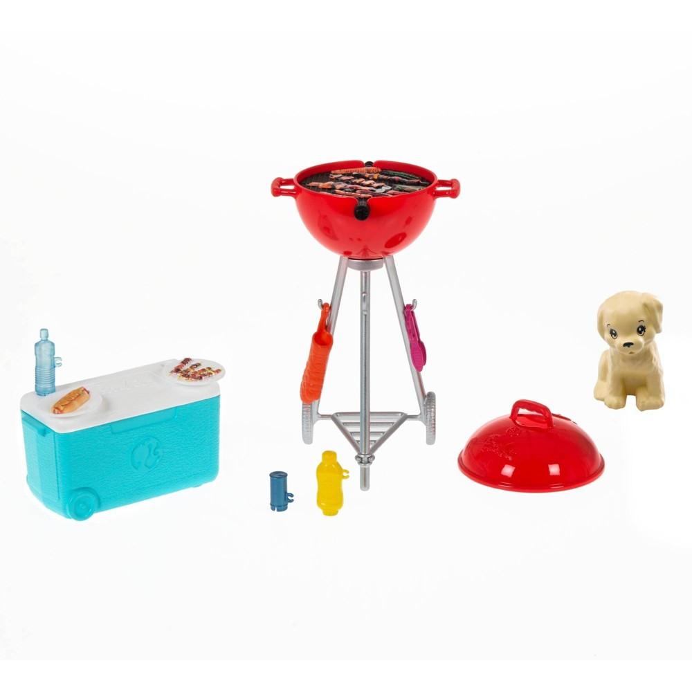 Barbie Mini Bbq Themed Accessory Playset 160