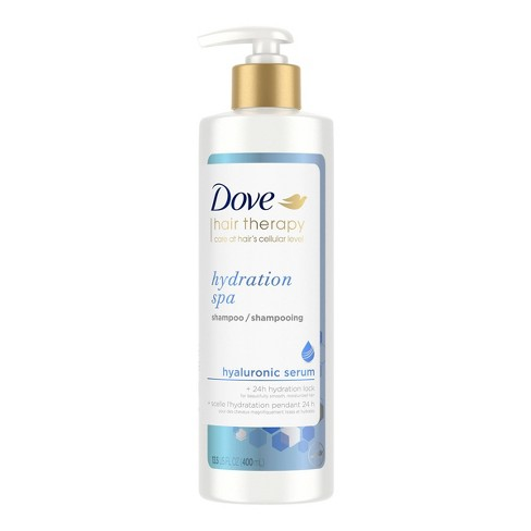 Dove Beauty Hair Therapy Hydration Spa with Hyaluronic Serum Moisturizing Shampoo - 13.5 fl oz - image 1 of 4