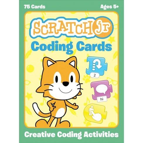 scratch jr coding cards creative coding activities paperback