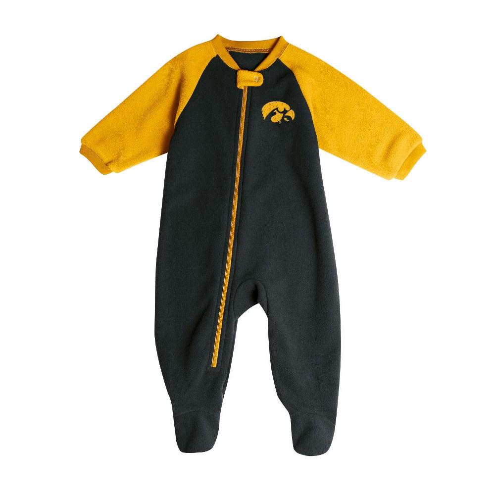 Iowa Hawkeyes Baby Boys' Long Sleeve Blanket Sleeper - 3-6M, Multicolored