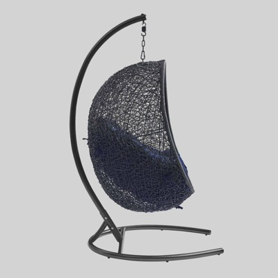 Encase Sunbrella Swing Outdoor Patio Lounge Chair - Modway