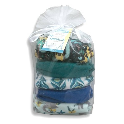 Thirsties Package Snap One Size All In One Reusable Diaper Cover - Animalia