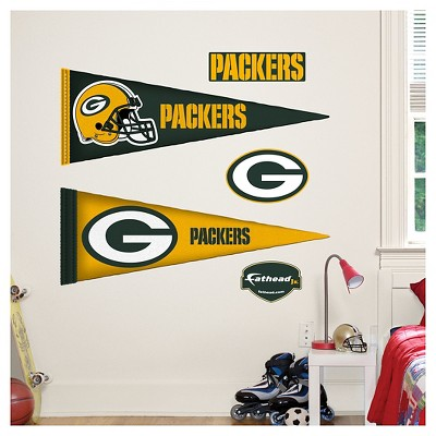 Decorative Wall Art Set Fathead 40 X 3 X 3 Green Bay Packers