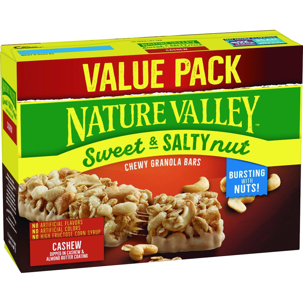Nature Valley Sweet And Salty Cashew Value Pack 18 8oz