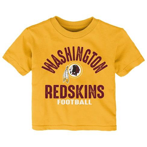 NFL Washington Redskins Toddler Gametime Fun 3pk Shirt  Pants Set ... 127120edb