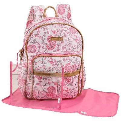 Laura Ashley Diaper Bag Backpack - Paisley