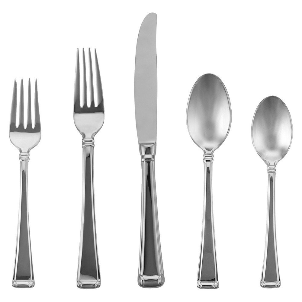 Image of Gorham Column 5-pc. Silverware Set