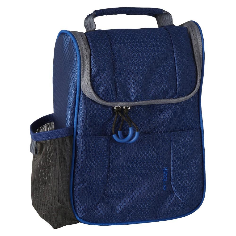Satchel Lunch Bag - Blue - Embark, Waterloo Blue