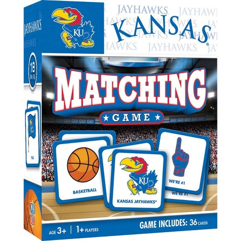 NCAA Kansas Jayhawks Matching Game - image 1 of 2