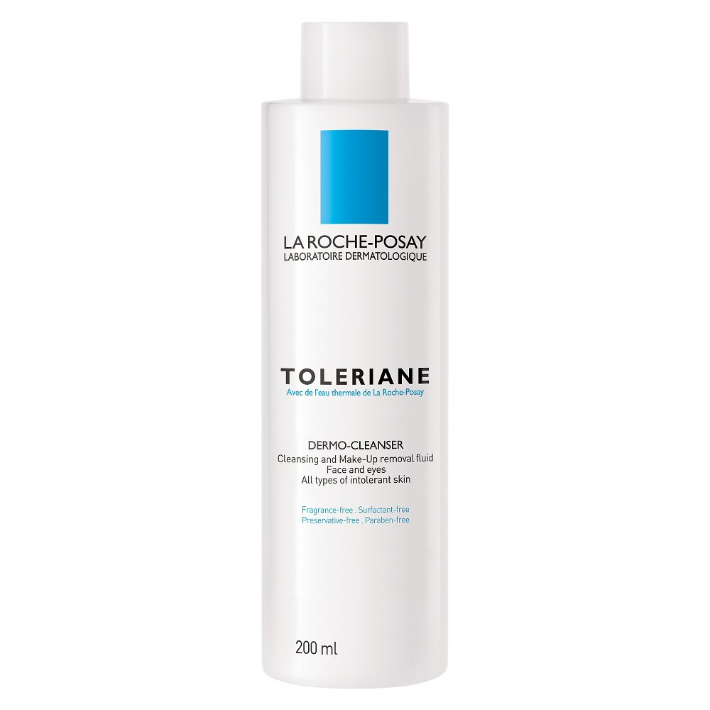 La Roche-Posay Toleriane Dermo-Cleanser for Face and Eyes, Facial Cleanser and Makeup Remover - 200ml