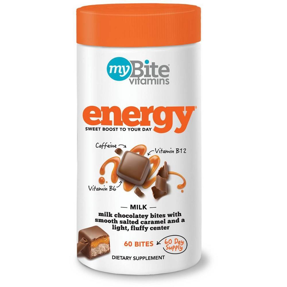 MyBite Energy Chewables - Milk Chocolatey Caramel - 60ct