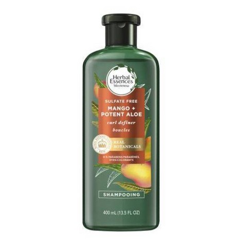 Herbal Essences bio:renew Mango + Potent Aloe Sulfate Free Shampoo for Curly Hair - 13.5 fl oz - image 1 of 3