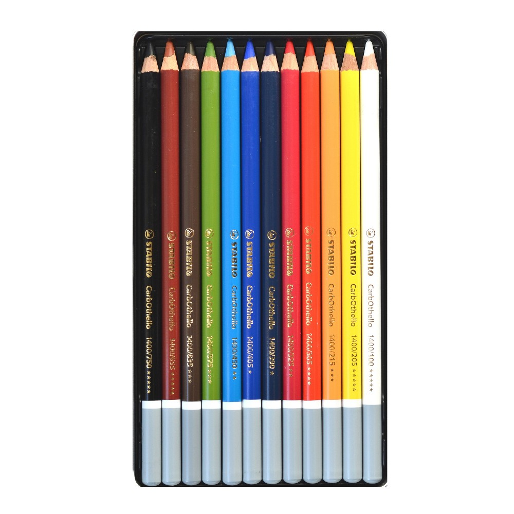 Image of Pastel Pencil Set - Stabilo Carb-Othello 12ct