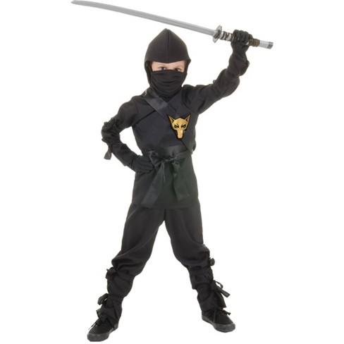 Ninja Halloween Costume Men.Boys Ninja Halloween Costume S
