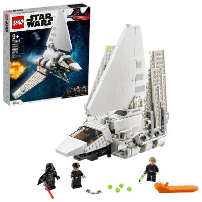 LEGO Star Wars Imperial Shuttle Building Toy 75302