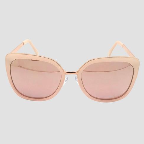 89de32d0f0 Women s Square Sunglasses - A New Day™ Rose Gold   Target
