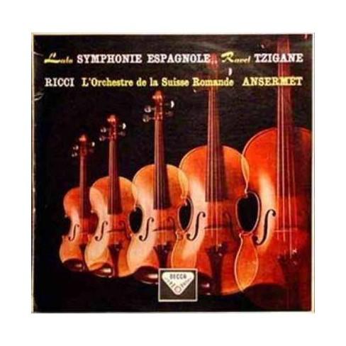 Ernest Ansermet - Lalo: Symphonie Espagnole/Ravel: Tzigane (Vinyl) - image 1 of 1