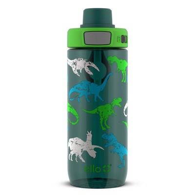 Ello 20oz Plastic Kids Tritan Flip Water Bottle