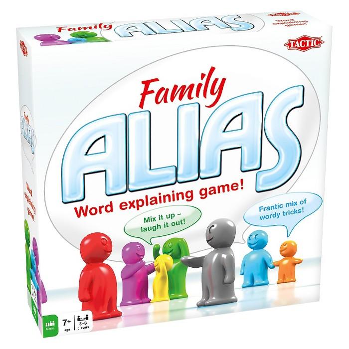Alias Family Word Game : Target