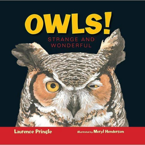 Owls! - (Strange and Wonderful) by  Laurence Pringle (Hardcover) - image 1 of 1
