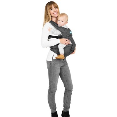Moby 2-in-1 Carrier + Hip Seat - Gray