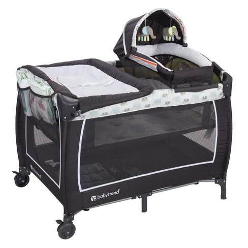Baby Trend Lil Snooze Deluxe Ii Nursery Center Sockorama