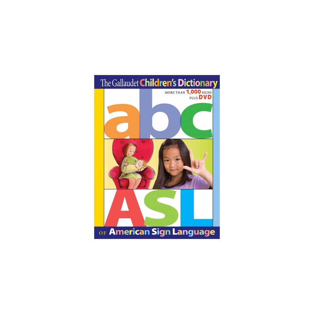 Gallaudet Children's Dictionary of American Sign Language (Hardcover)