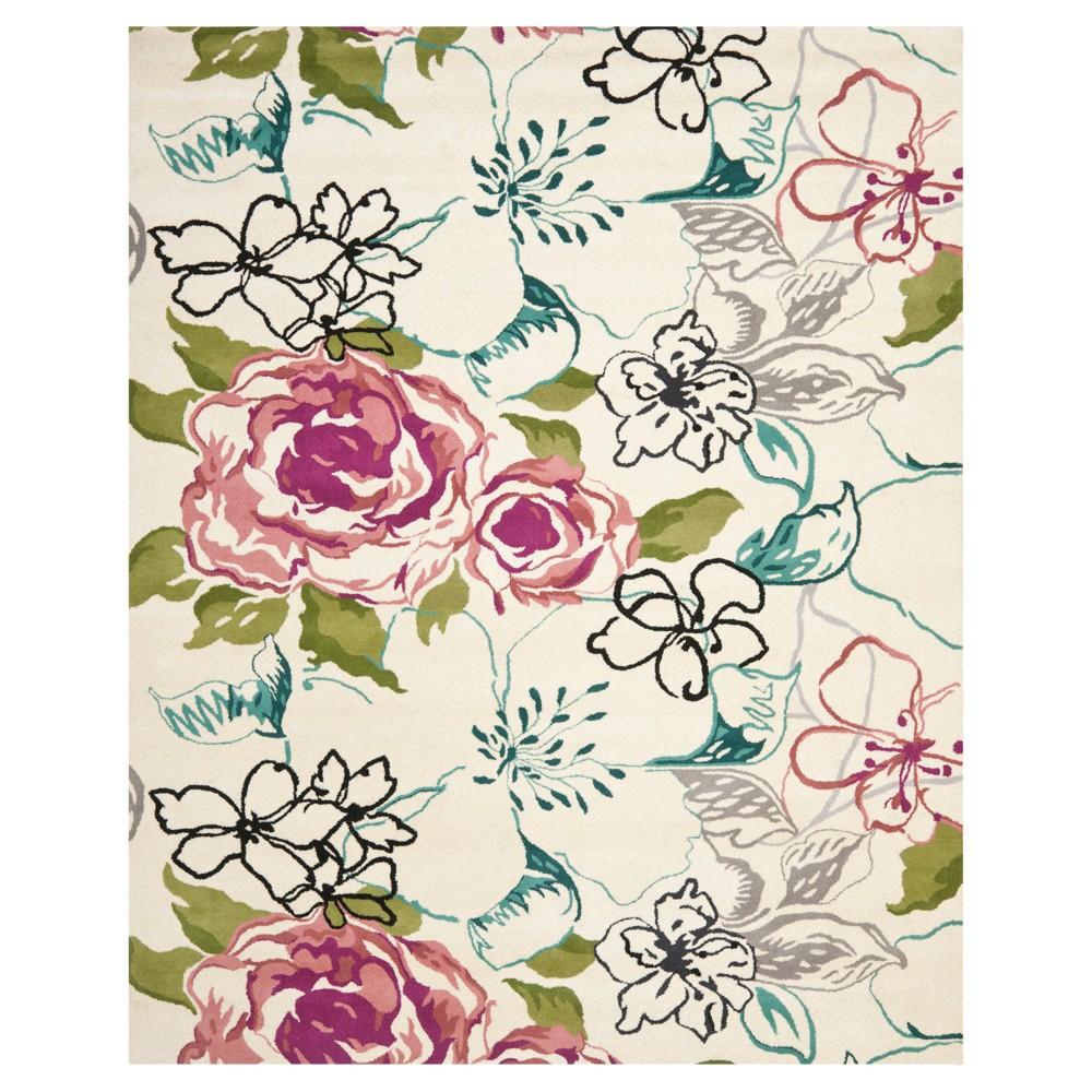 Eston Area Rug - Ivory/Pink (8'x10') - Safavieh