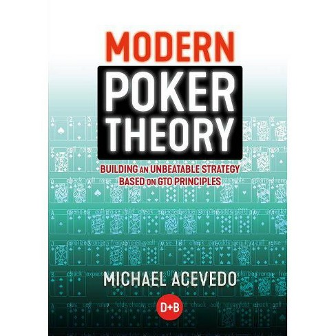 Modern Poker Theory - by  Michael Acevedo (Paperback) - image 1 of 1