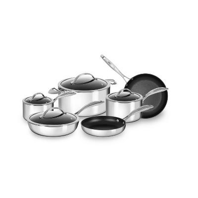 ScanPan HaptIQ Stainless Steel-Aluminum 10-Piece Cookware Set