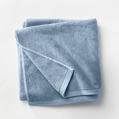 Organic Bath Sheet Sky Blue - Casaluna™
