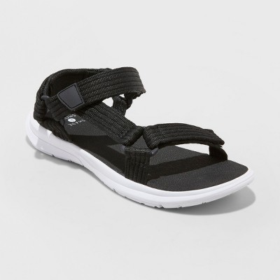 Women's Lori Two Band Sport Sandals   Shade &Amp; Shore Black by Shade & Shore Black