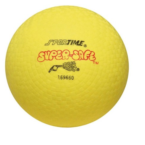 Sportime Super-Safe Rubber Playground Ball, 10 Inches, Yellow - image 1 of 1