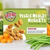 Earth's Best Gluten Free and Vegetarian Frozen Veggie Medley Frozen Nuggets - 8oz - image 3 of 3