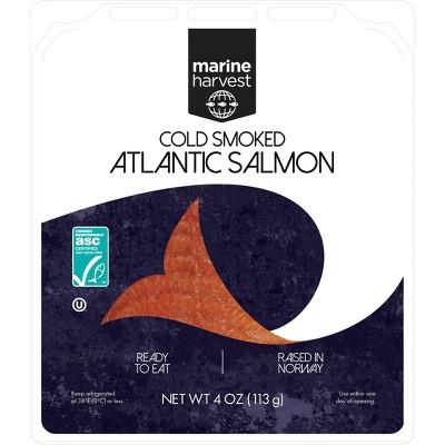 Marine Harvest Norwegian Cold Smoked Salmon - 4oz