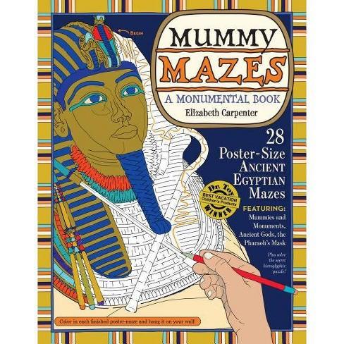 Mummy Mazes - by  Elizabeth Carpenter (Paperback) - image 1 of 1